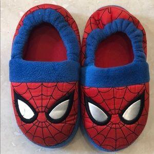 Spider man slippers